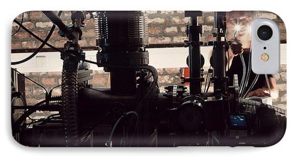 Quantum Entanglement Equipment Phone Case by Volker Steger