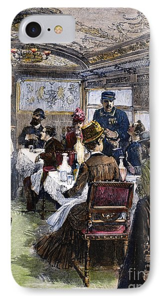 Railroad: Dining Car, 1880 Phone Case by Granger