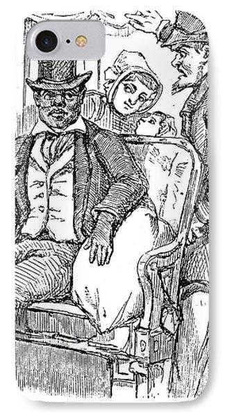 Railway Segregation, 1856 Phone Case by Granger