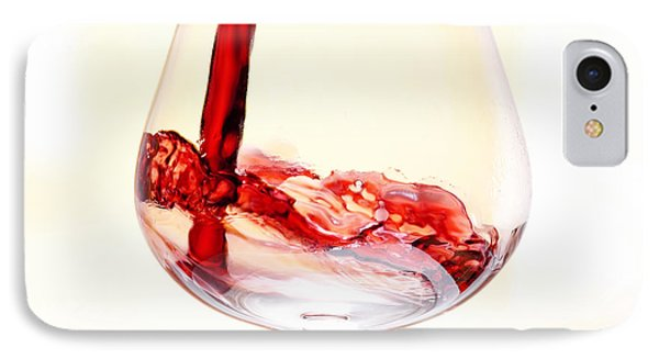Red Wine IPhone Case by Michal Boubin