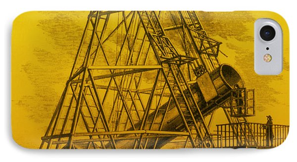 Reflecting Telescope, 1789 Phone Case by Science Source