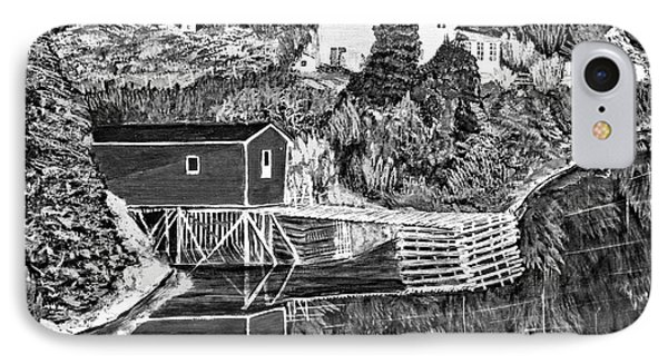 Reflections B W Phone Case by Barbara Griffin