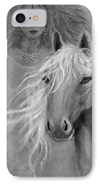 Rhiannon Phone Case by The Art With A Heart By Charlotte Phillips