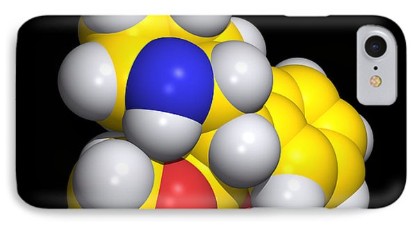 Ritalin Molecule Phone Case by Dr Tim Evans