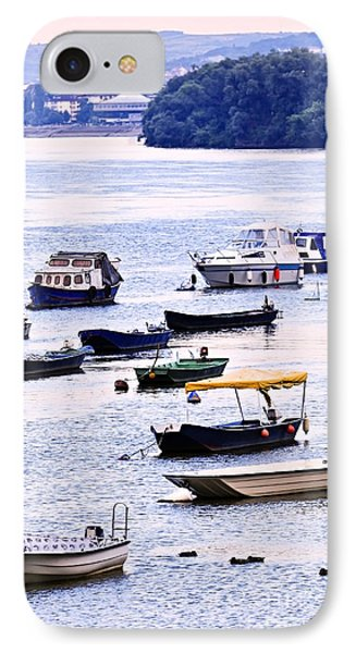 River Boats On Danube Phone Case by Elena Elisseeva