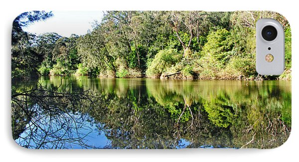 River Reflections Phone Case by Kaye Menner