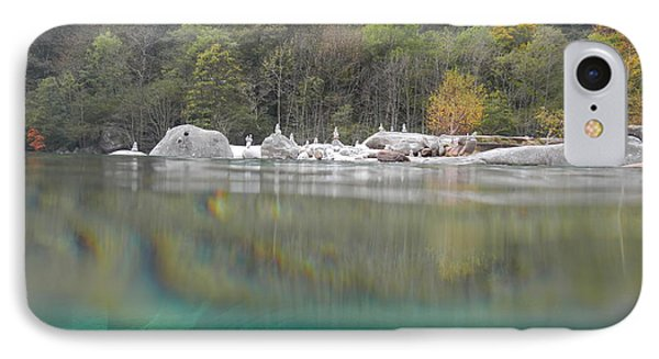 River With Trees Phone Case by Mats Silvan