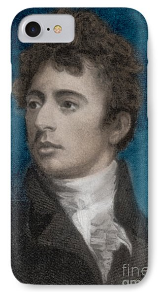 Robert Southey, English Poet Laureate Phone Case by Photo Researchers