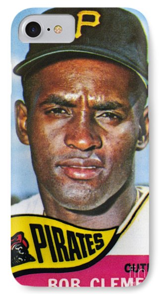 Roberto Clemente Phone Case by Granger