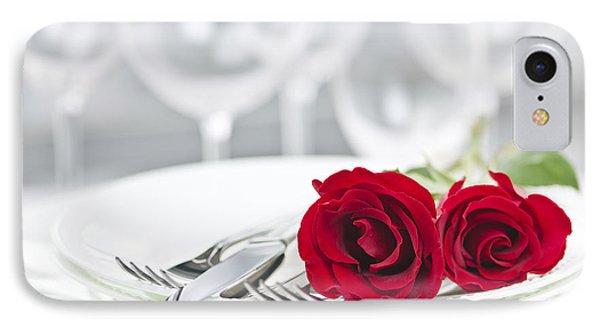 Romantic Dinner Setting Phone Case by Elena Elisseeva