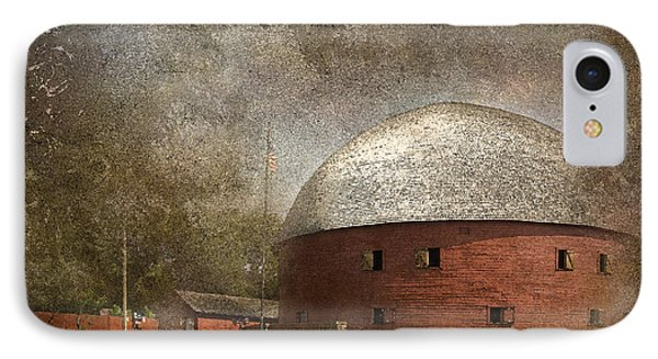 Route 66 Round Barn IPhone Case by Betty LaRue