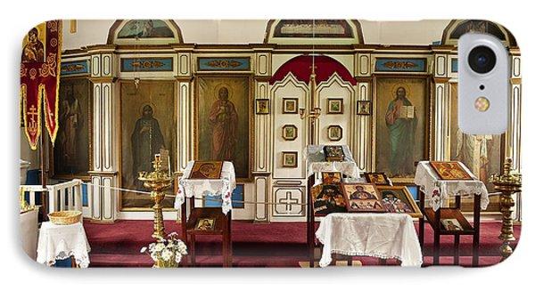 Russian Orthodox Church IPhone Case by John Greim