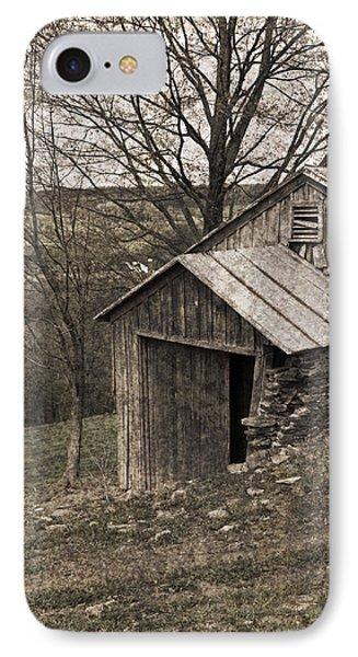 Rustic Hillside Barn Pasture Phone Case by John Stephens