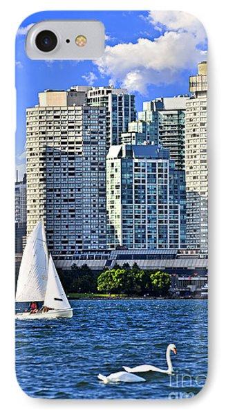 Sailing In Toronto Harbor Phone Case by Elena Elisseeva