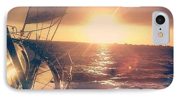 Sailing Sunset IPhone Case by Dustin K Ryan