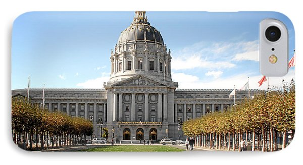 San Francisco City Hall - Beaux Arts At Its Best Phone Case by Christine Till