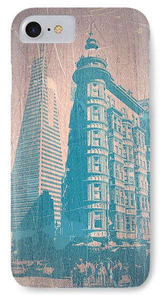 San Fransisco IPhone Case by Naxart Studio