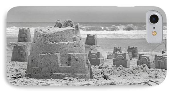 Sandcastle  IPhone Case by Betsy Knapp