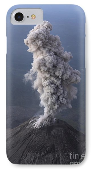 Santiaguito Ash Eruption, Guatemala Phone Case by Martin Rietze