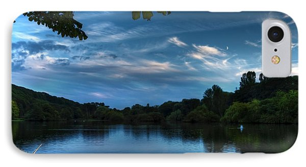 Scarborough Mere Phone Case by Svetlana Sewell
