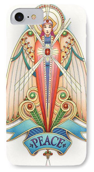 Scroll Angels - Pax Phone Case by Amy S Turner