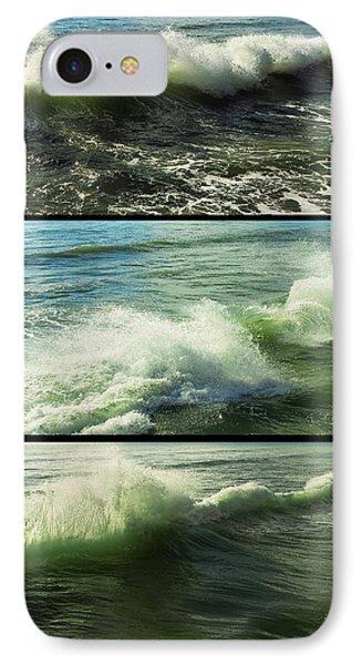Sea Waves Phone Case by Svetlana Sewell