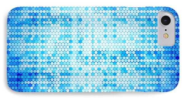Seamless Honeycomb Pattern IPhone Case by Setsiri Silapasuwanchai