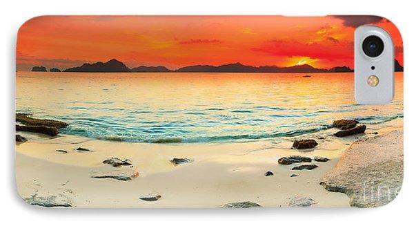 Seascape Panorama Phone Case by MotHaiBaPhoto Prints
