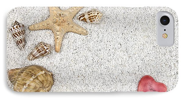 Seastar And Shells Phone Case by Joana Kruse