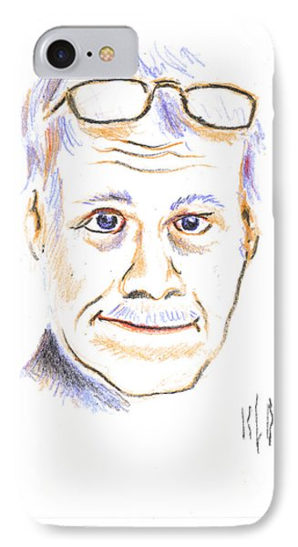 Self-portrait Phone Case by Kip DeVore