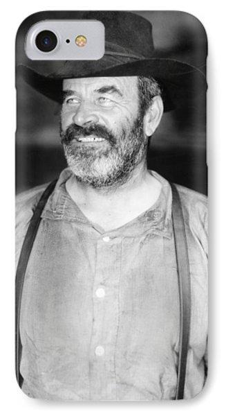 Silent Film Still: Beards Phone Case by Granger