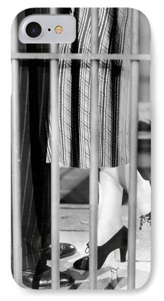 Silent Film Still: Legs Phone Case by Granger