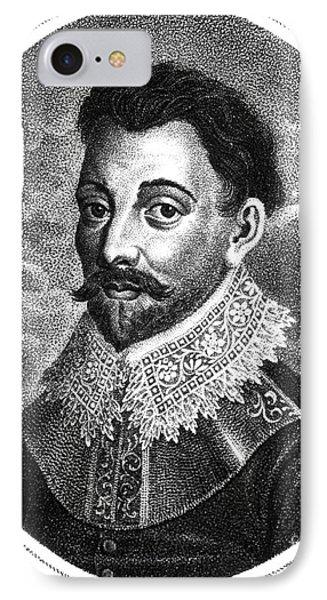 Sir Francis Drake, English Explorer Phone Case by Photo Researchers