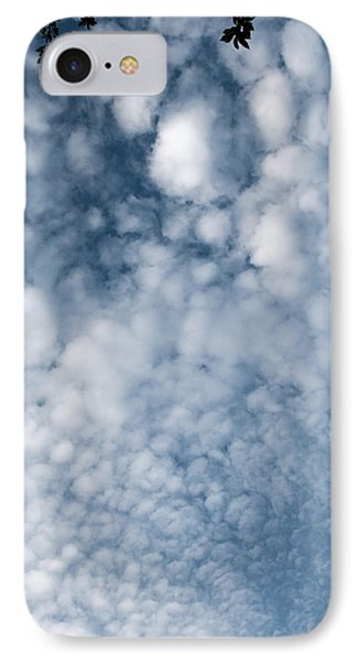 IPhone Case featuring the photograph Sky Fluff by Lenny Carter