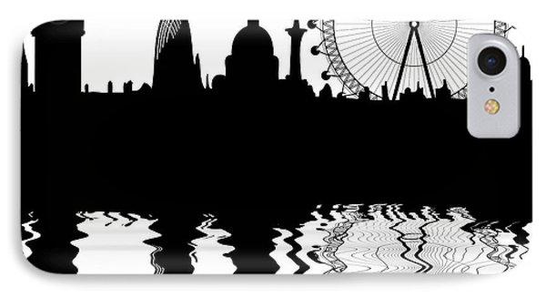 skyline of London IPhone Case