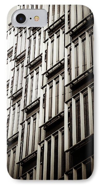 Slatted Window Architecture Phone Case by Lenny Carter