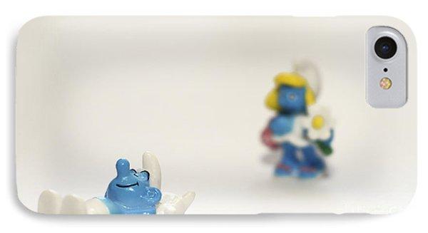Smurf Figurines Phone Case by Amir Paz