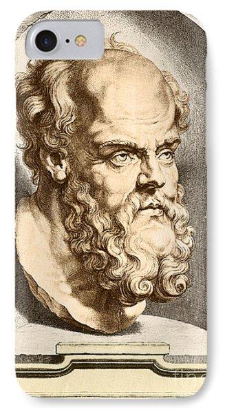 Socrates, Greek-athenian Philosopher IPhone Case