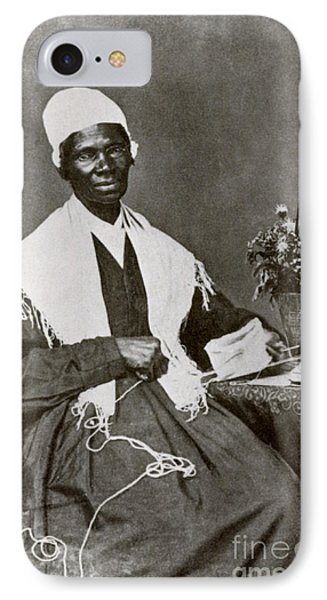 Sojourner Truth, African-american Phone Case by Photo Researchers
