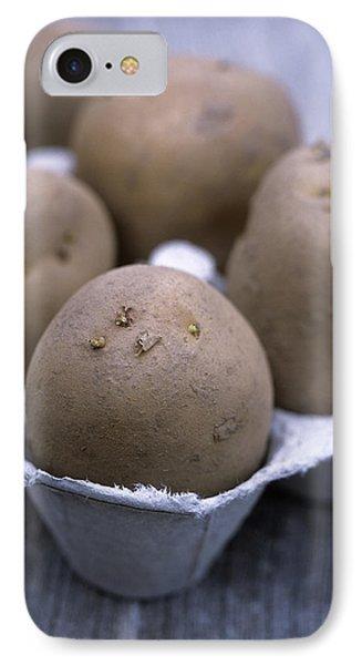 Solanum Tuberosum 'charlotte' Phone Case by Maxine Adcock