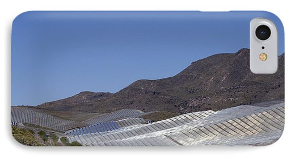 Solar Power Plant, Cala San Pedro, Spain Phone Case by Chris Knapton