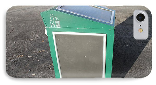 Solar Powered Trash Compactor Phone Case by Photo Researchers, Inc.