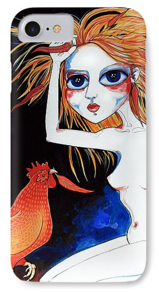 IPhone Case featuring the painting Sorry by Leanne Wilkes