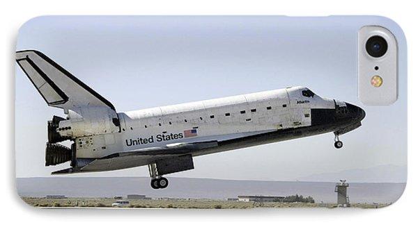 Space Shuttle Atlantis Prepares Phone Case by Stocktrek Images