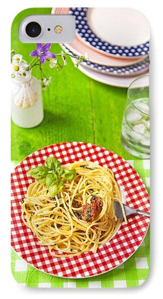 Spaghetti Al Pesto IPhone Case