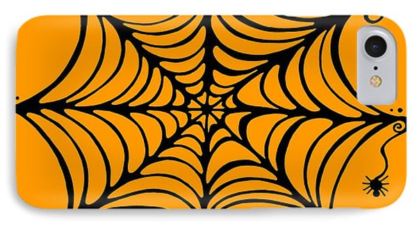 Spider's Web Phone Case by Mandy Shupp