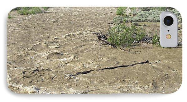 Spring Flood, Nicola River, Canada Phone Case by Kaj R. Svensson