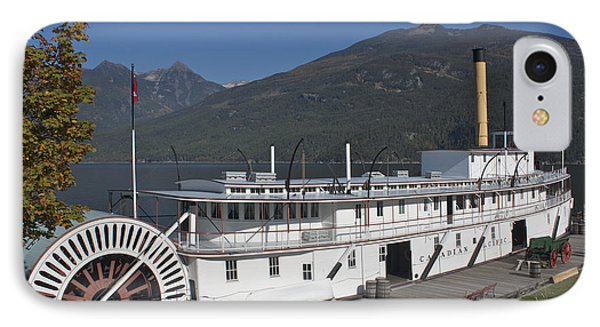IPhone Case featuring the photograph Ss Moyie by Cathie Douglas
