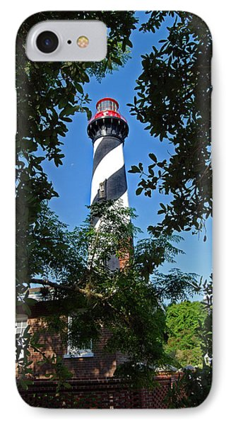 St Augustine Lighthouse Phone Case by Skip Willits