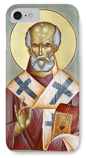 St Nicholas Of Myra Phone Case by Julia Bridget Hayes